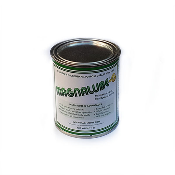 MLG1.0 Magnalube-G Elastomer thickened all-purpose Grease with PTFE – 1 lb tin