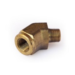 Brass Male to Female 45° Elbow