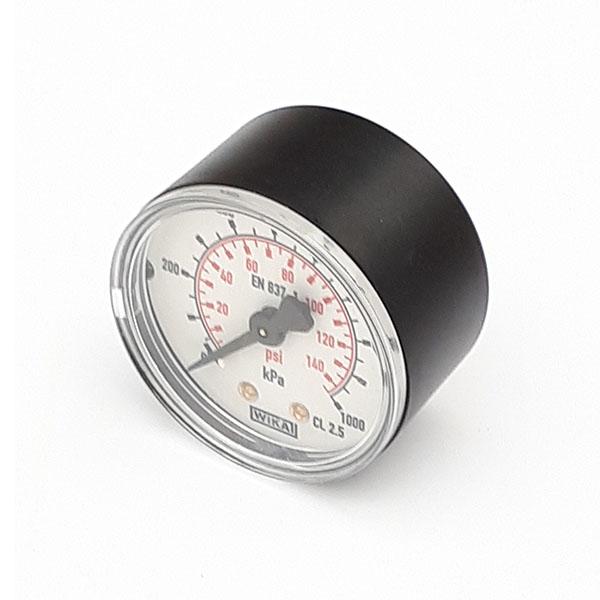 GW40-10-1/8-R-P/K 40mm 1000 KPA Dry Pressure Gauge