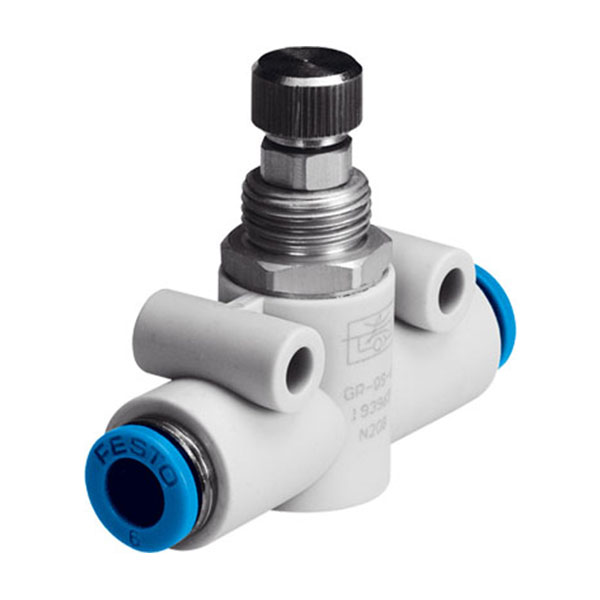 GR-QS-6 Push-in One Way Flow Control Valve