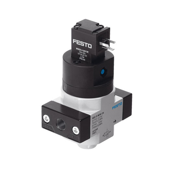HEE-1/4-D-MINI-24 Solenoid Operated On/Off Dump Valve - 1/4 BSP / 24V DC