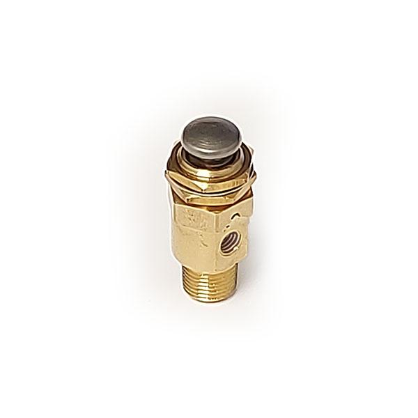 HUM-3P 3 Port Push Button Valve