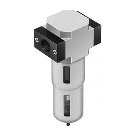 LF-1/4-D-5M-MINI Filter/Water Trap Manual Drain 1/4 BSP 5 Micron
