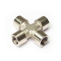 Nickel Plated Female Cross