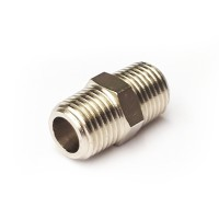 Nickel Plated Hex Nipple