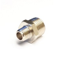 Nickel Plated Reducing Hex Nipple
