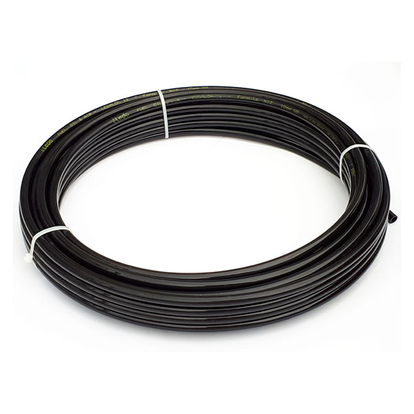NYLON12-8mmBx20m – 20m roll 8mm Black Nylon Tubing