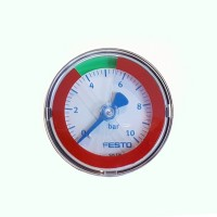 Pressure Gauges with Red/Green Range