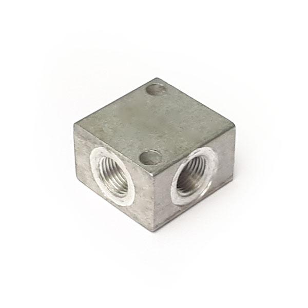 BRA1 - 1/8 BSP 4 port square manifold