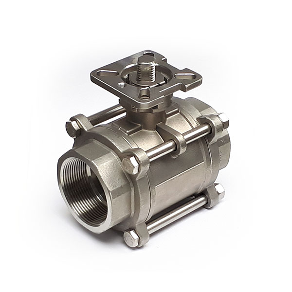 BV-25-ISO-F04-F05-SS Stainless Ball Valve 1 Inch BSP