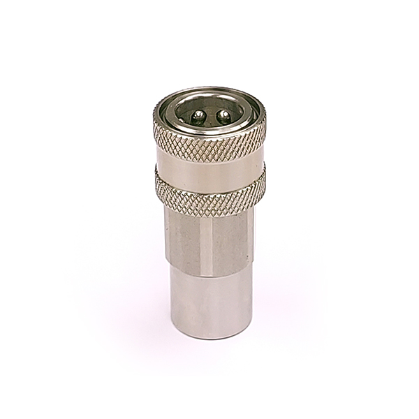 QBNVS-F04 316 Stainless Steel Double Shut Off Coupler 1/4 BSP