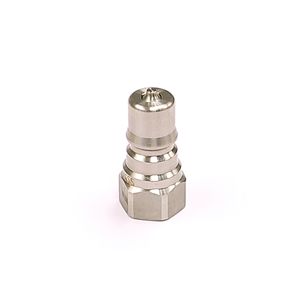 QBNVS-M04 316 Stainless Steel Double Shut Off Coupling Plug 1/4 BSP