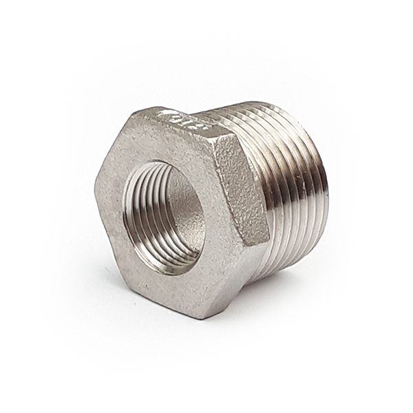 SRB0806 1/4 - 1/8 BSP Stainless Reducing Bush