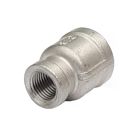SRS1510 1/2 - 3/8 BSP Stainless Reducing Socket