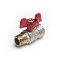 M/F Tee Handled Ball Valves