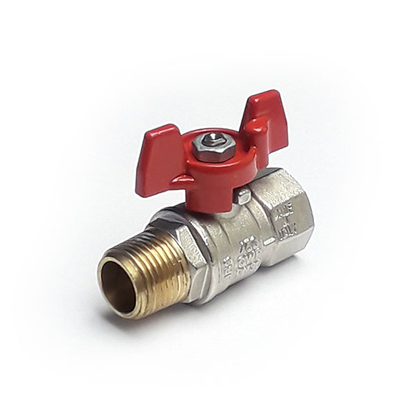 BVMF-T-8 - 1/4 BSP Tee Handle Ball Valve