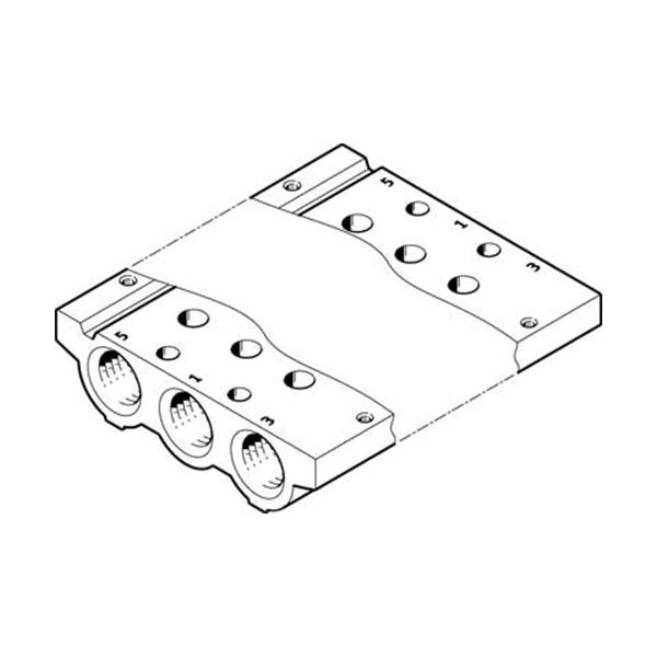 VABM-L1-14S-G14-2 Manifold Rail