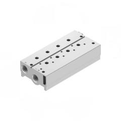 Manifolds for 3 Port 1/4 VUVS Valves