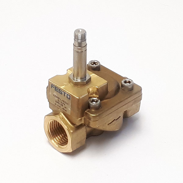 VZWM-L-M22C-G14-F4 Solenoid Valve for Air/Water 1/4 BSP 2 Port